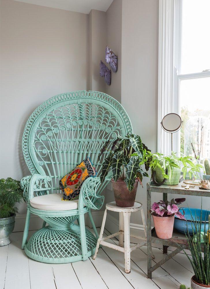 fauteuil emmanuelle bleu turquoise vert menthe mint diy