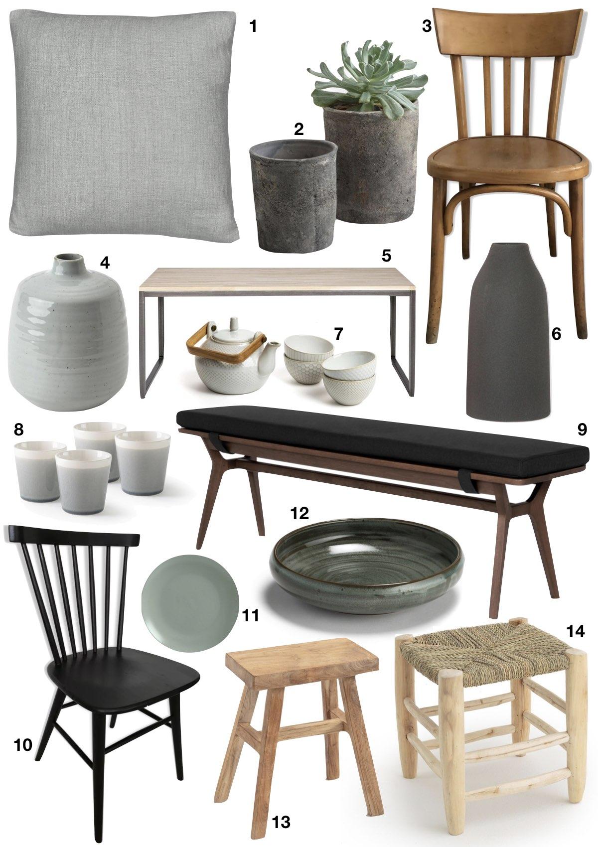 japandi style décoration design japonais scandinave - blog déco - clem around the corner