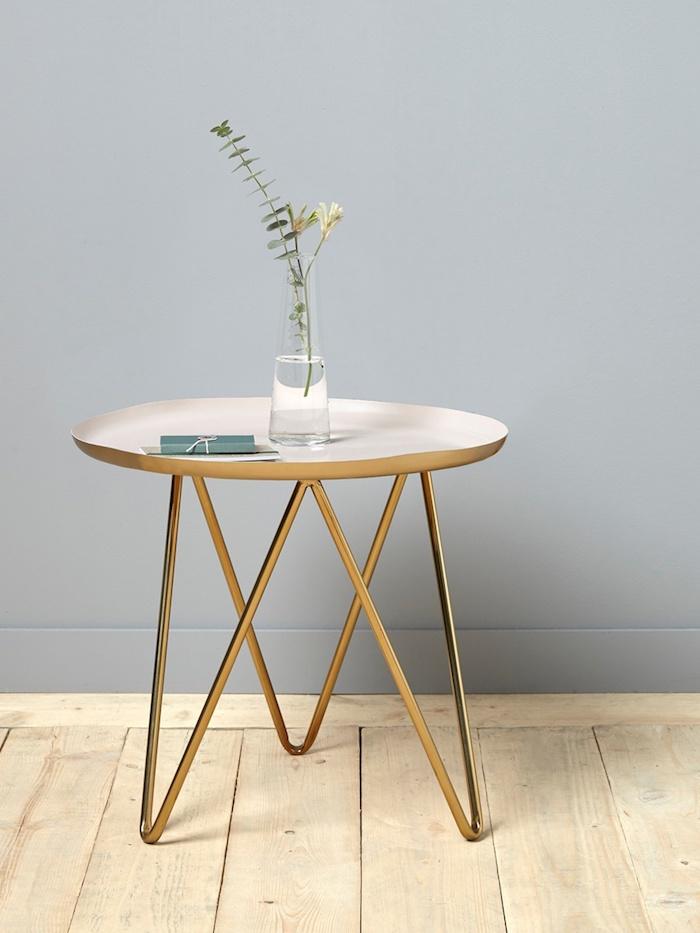 maisonobjet 2018 tendances deco table dappoint en metal et laiton