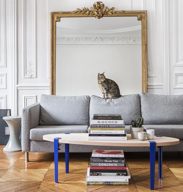 maisonobjet 2018 tiptoe table basse pieds bleu metal chene tendances deco