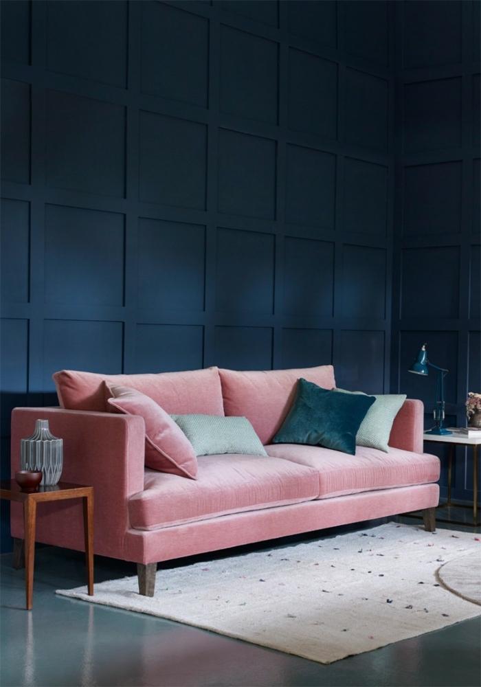 maisonobjet paris 2018 coussins salon tendances deco rose canape velours