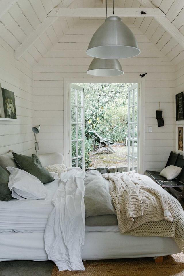 mini maison champêtre chambre sur jardin suite parentale