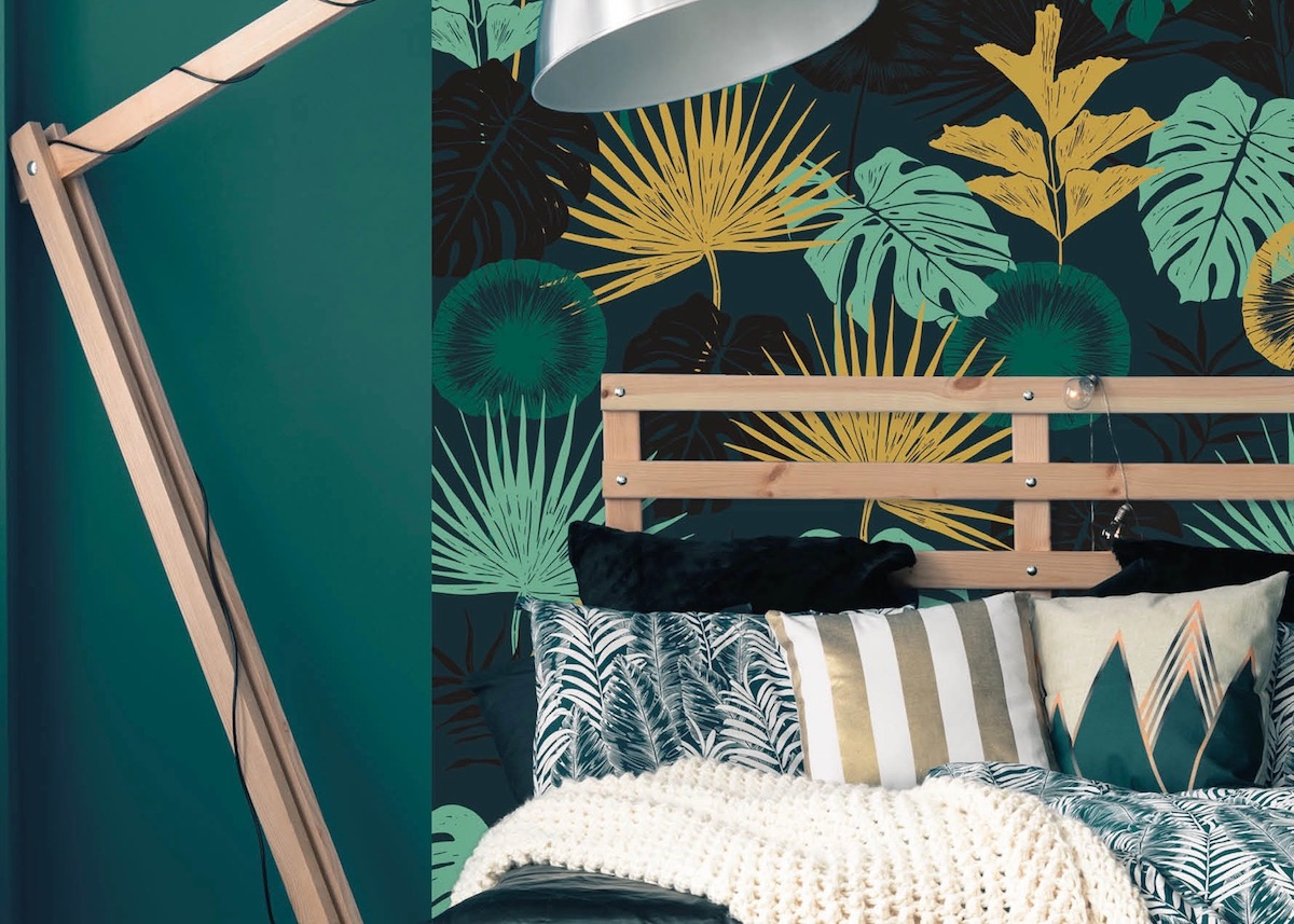papier peint magn tique et aimant blog d co clem around the corner. Black Bedroom Furniture Sets. Home Design Ideas