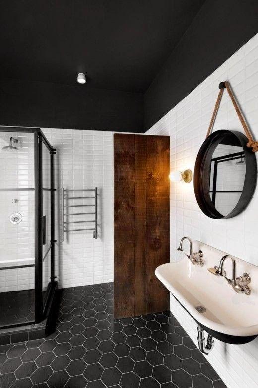 couvrir mur de bois idee cloison planche de bois diy separation piece salle de bain