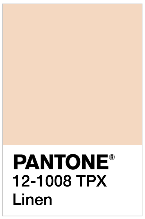 reference pantone couleur lin blog deco clem around the corner