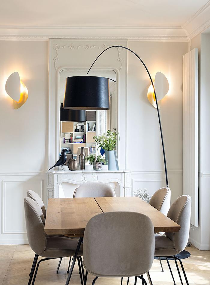 blog deco clemaroundthecorner appartement vincennes table salon manger cuisine