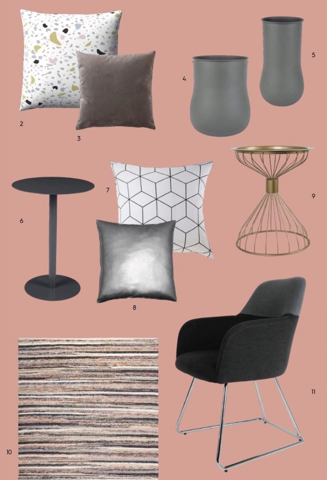 catalogue 3 suisses ete deco terrazzo coussin salon
