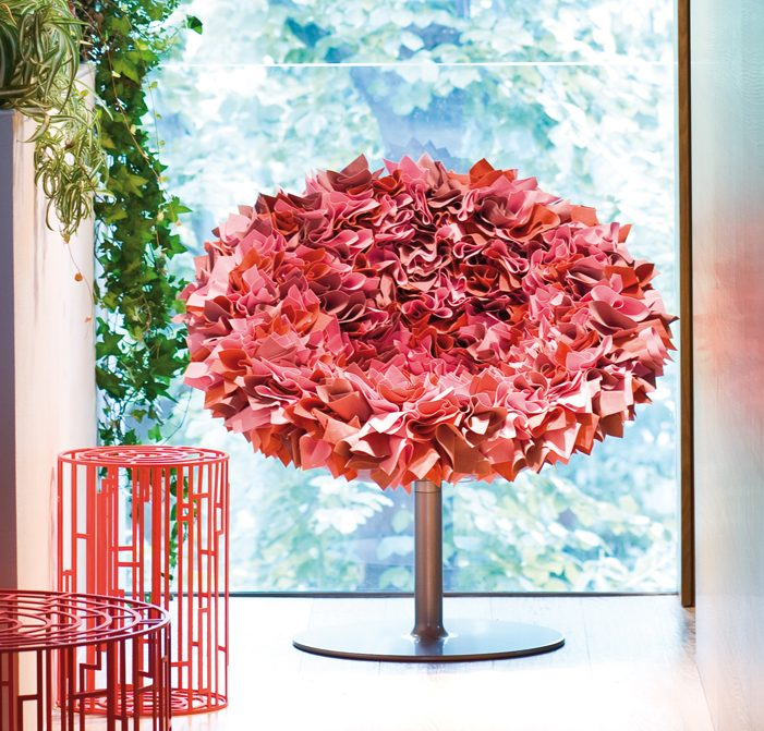 chaise fauteuil fleur bouquet tissu moroso blog deco