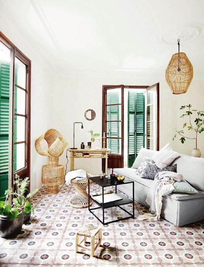 Style ethnique salon - Canape style africain ...
