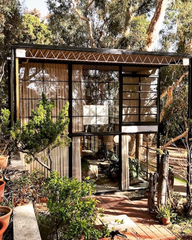 maison eames bois acier verre design modernisme architecture style