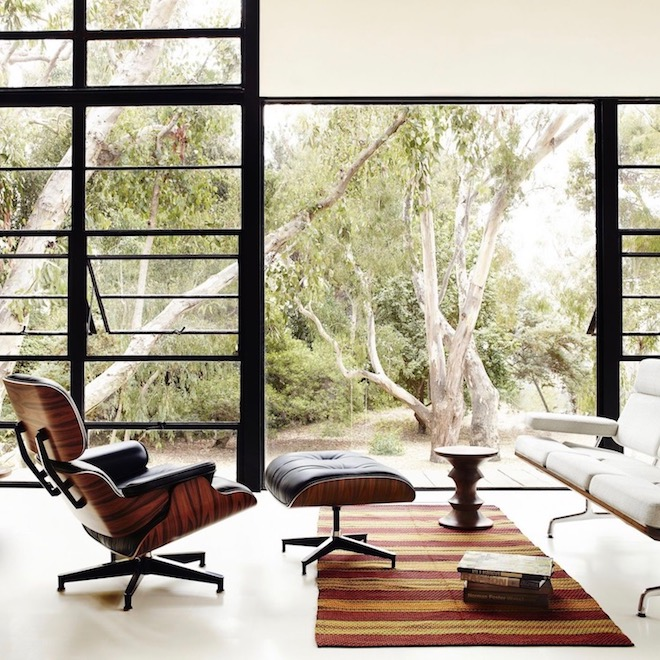 maison eames csh 8 lounge chair salon