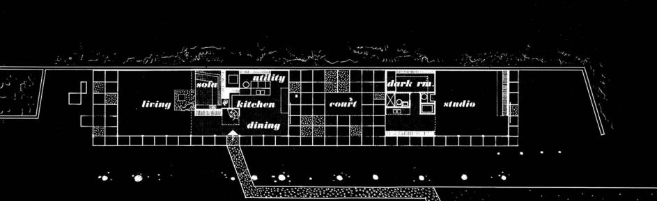 maison Eames plan architecture case study house