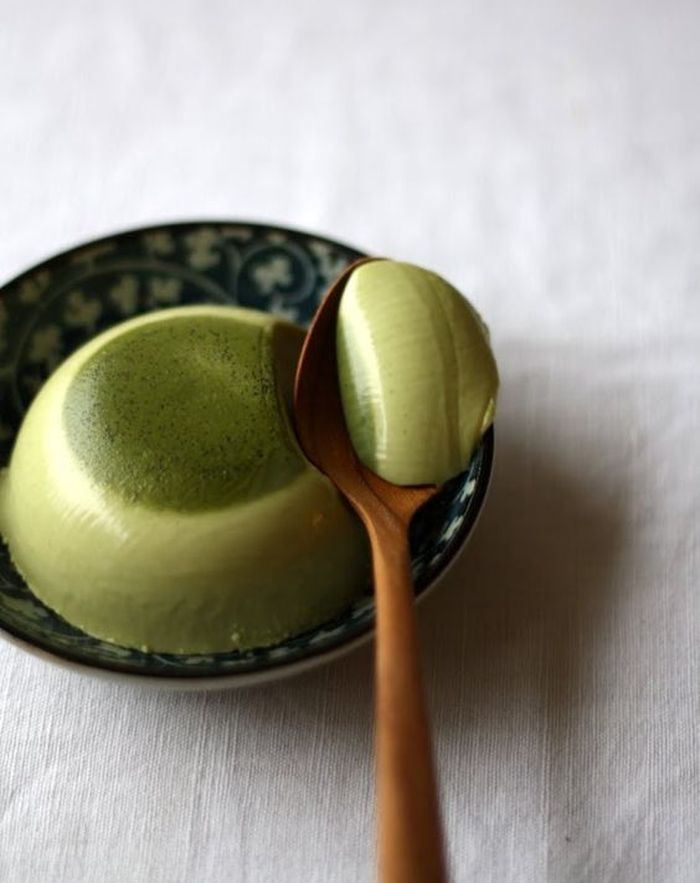 recette the matcha panna cotta preparation the matcha