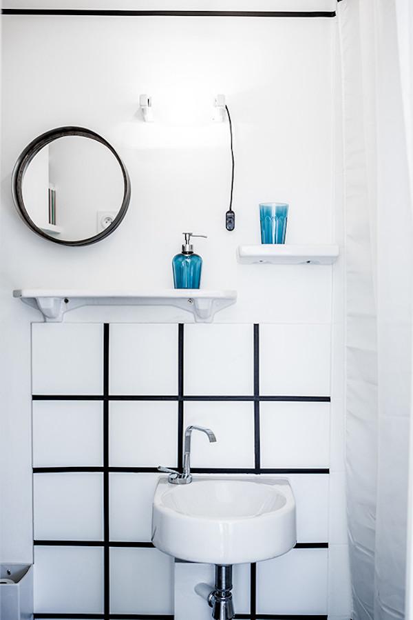 meubler et décorer la salle de bain appartement studio étudiant - blog déco - clem around the corner
