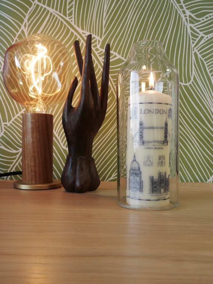 diy photophore recup bouteille verre blog deco clem around the corner