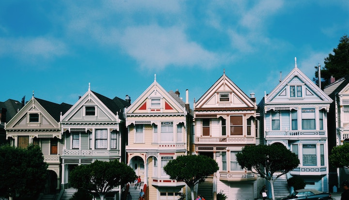 diy mettre en valeur ses photos san francisco alamo square painted ladies