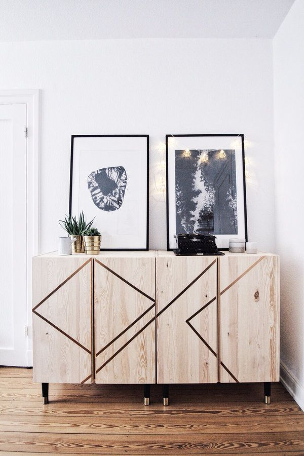 ikea hack buffet diy scandinave ivar clem around the corner