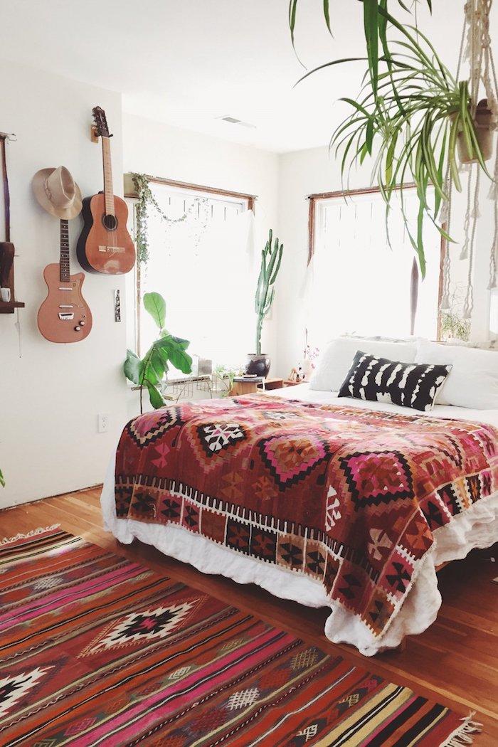 maison californienne folk pop ethnique aztheque cactus