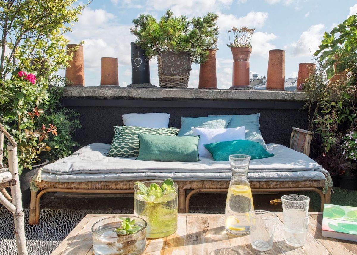 terrasse et jardin amenagement comment decorer moins 500 euros bon plan blog deco design