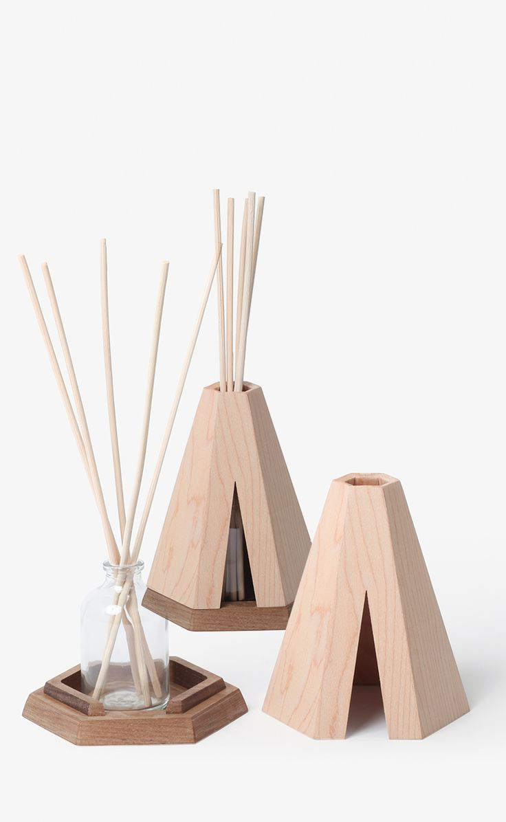 pana objects bois blog deco tipi diffuseur parfum original