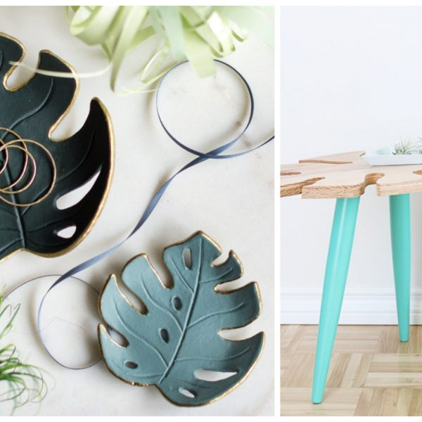 tendance tropical diy monstera blog decoration interieure clemaroundthecorner