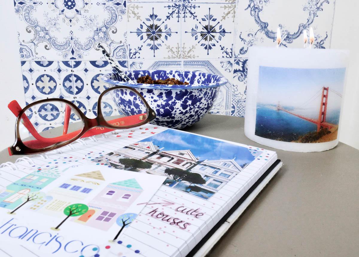 mettre en valeur ses photos idee decoration bougie bullet journal