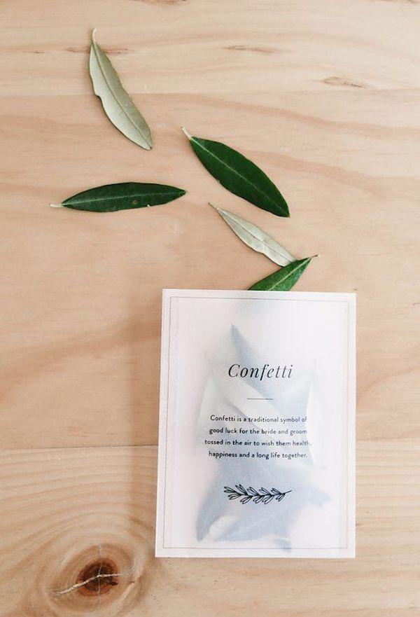 confetti mariage idee originale olivier deco ceremonie laique