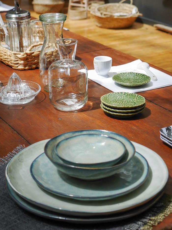 monoprix déco 2018 2019 blog déco clemaroundthecorner glamping outdoor plantes table maison vaisselle