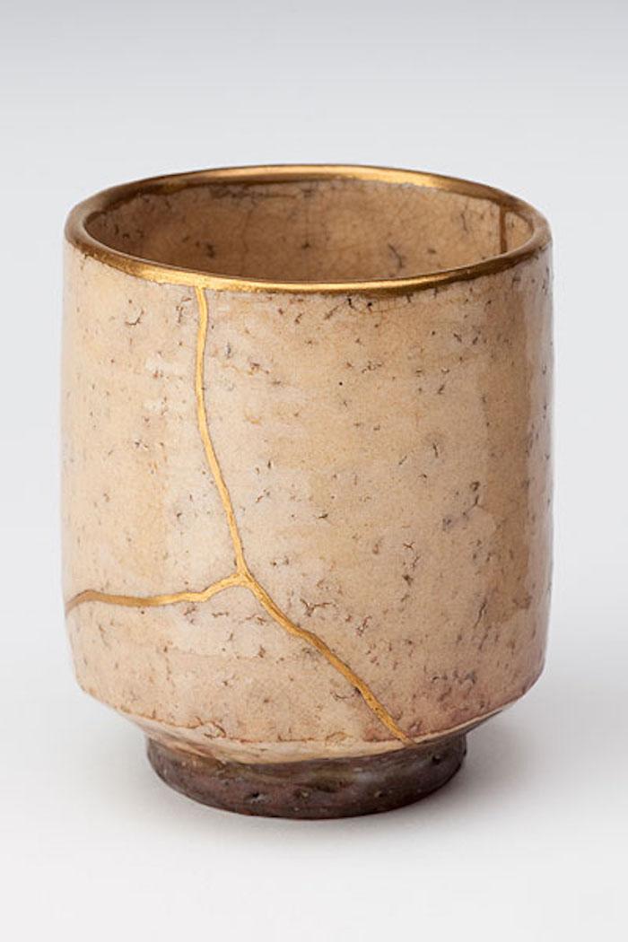 kintsugi art japon céramique diy réparer objet avec or