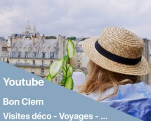 vidéo youtube visite décoration intérieure francais blog déco clemaroundthecorner
