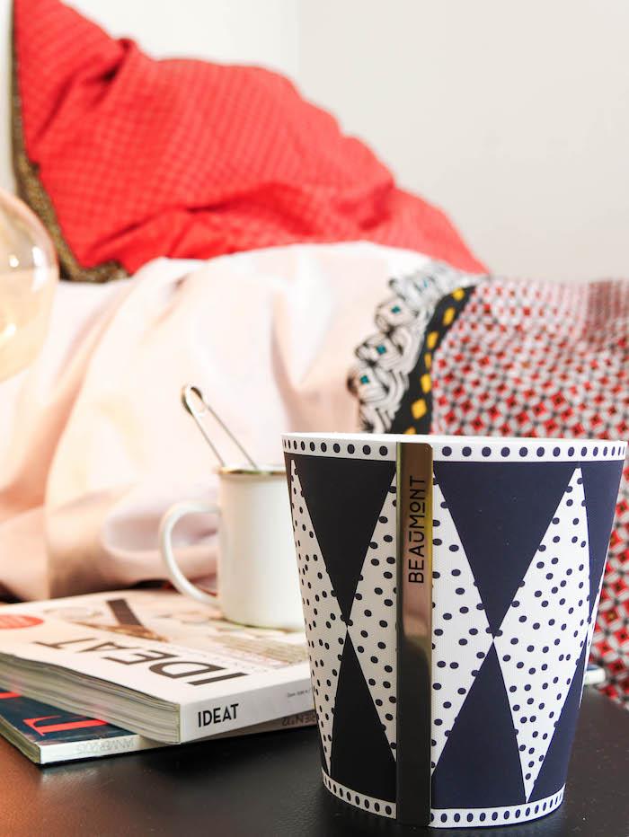 idée fête des mères linge de maison bougie chambre décoration blog déco