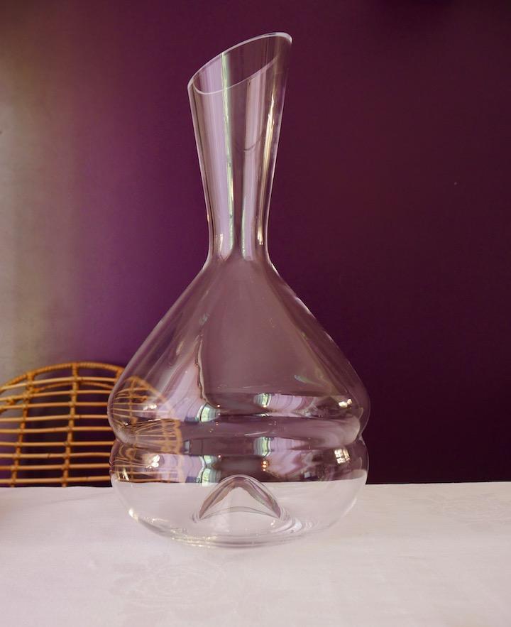 avis carafe a vin macaron chef et sommelier bordeaux mur prune violet aubergine