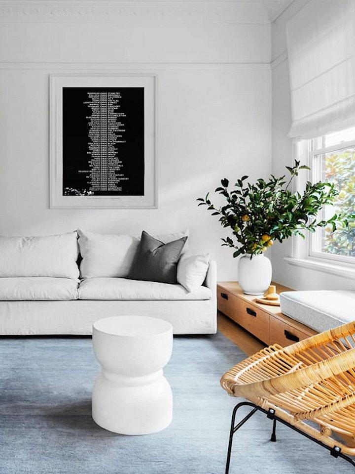 bungalow californien scandinave chic salon blanc clem around the corner