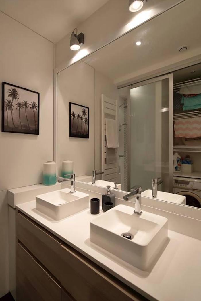 appartement chic parisien salle de bain