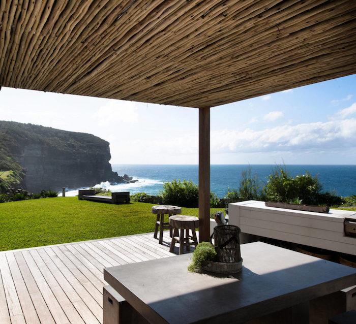 beach house terrasse vue sur mer blog deco clem around the corner