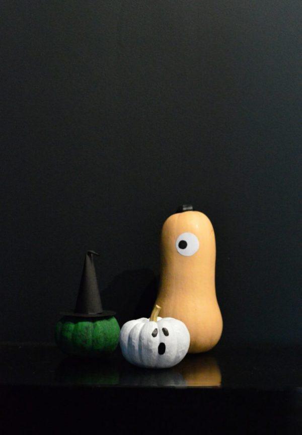 citrouille diy Halloween thème fantôme blog déco clemaroundthecorner