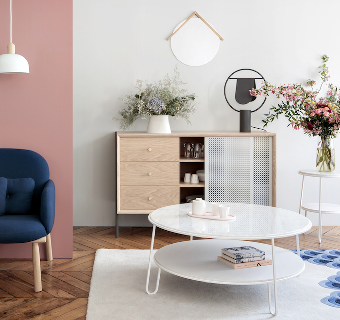 collection gabin harto cannage blanc metal salon design