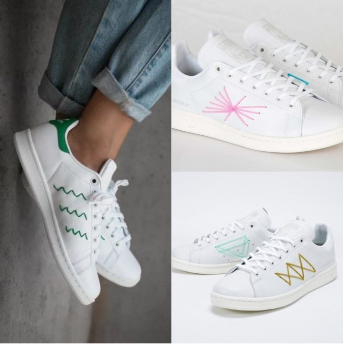 comment customiser ses chaussures stan smith