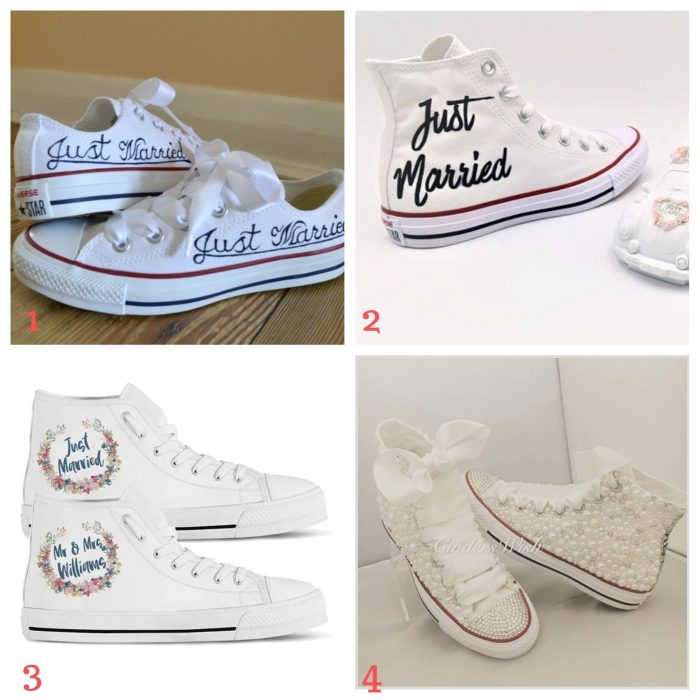 converse diy hack mariage comment customiser ses chaussures