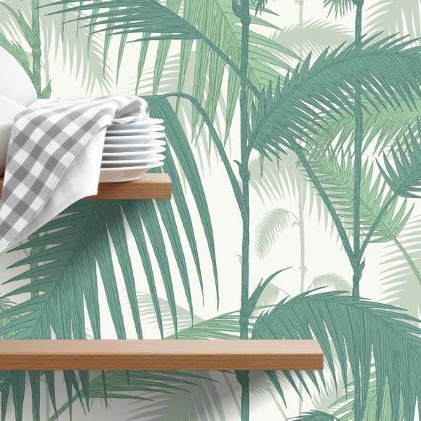 deco feuille de palmier blog clemaroundthecorner