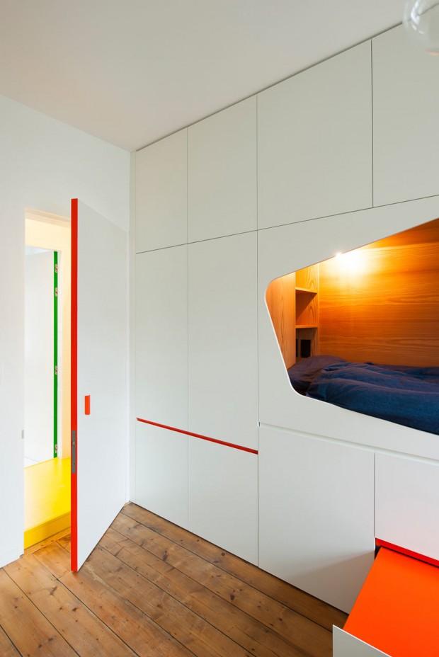 idée décorer une porte studio aménagement optimisé blog déco clem around the corner