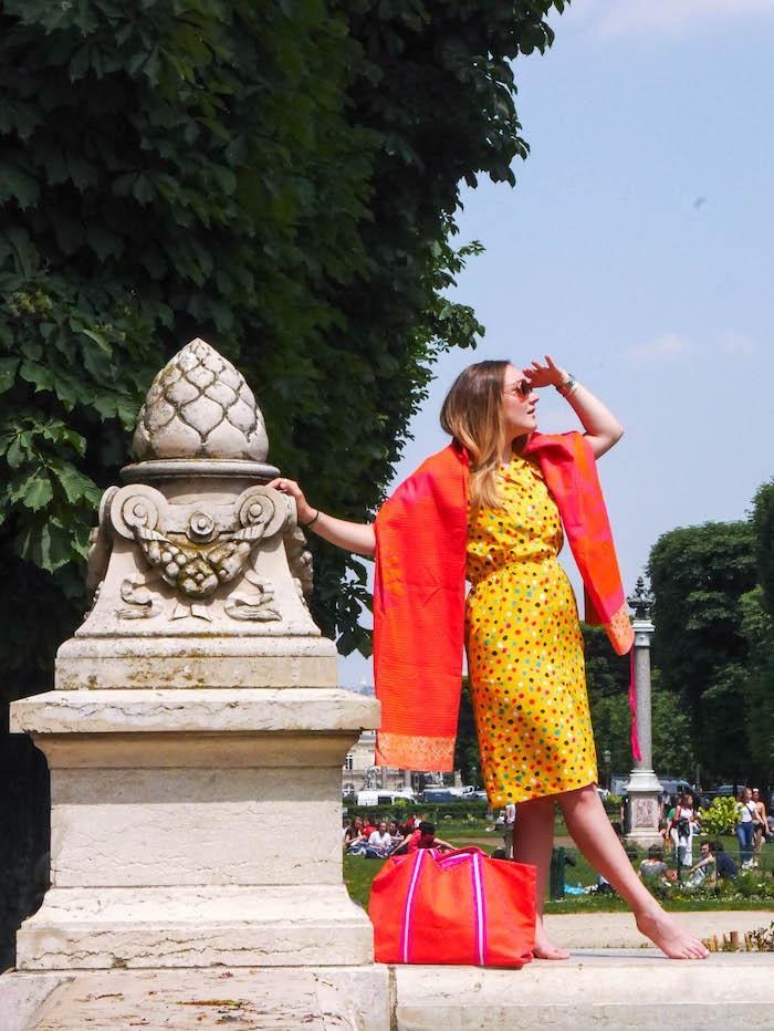 plage a paris le jacquard français pose model mannequin clemaroundthecorner blog déco