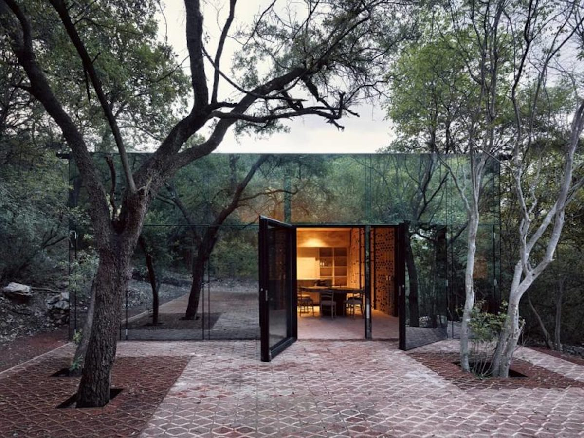 maison de verre invisible foret Monterrey blog deco architecture clem around the corner
