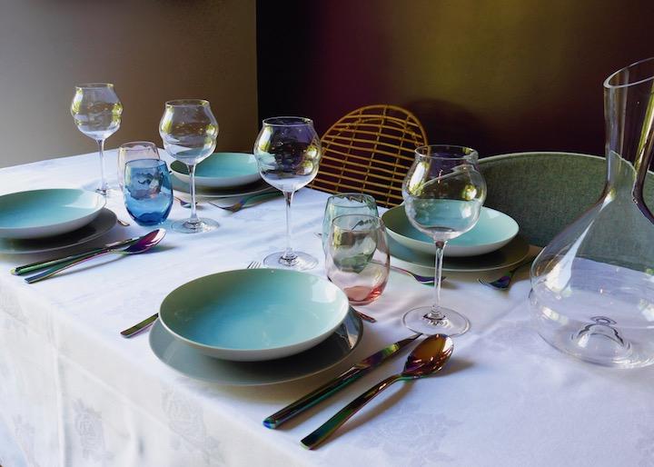 table de fête des mères printanière blog déco clem around the corner