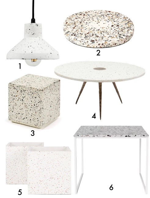 terrazzo lampe table pas cher blog deco clem around the corner
