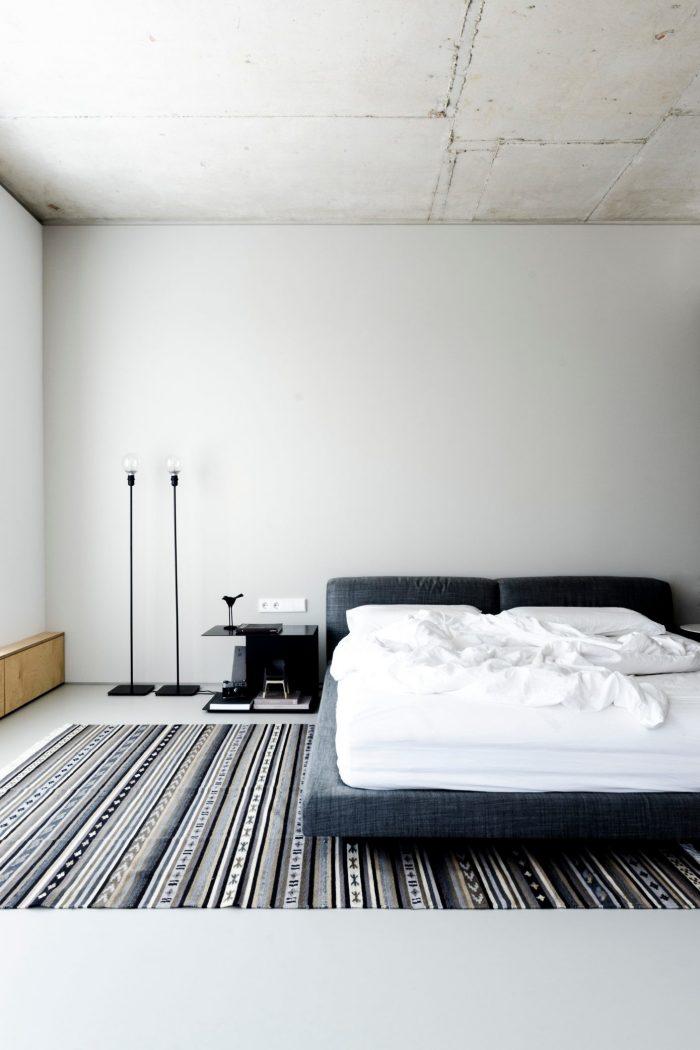 appartement esprit loft lit chambre