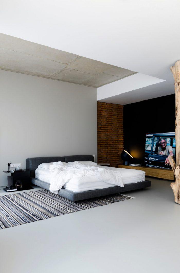 appartement esprit loft chambre