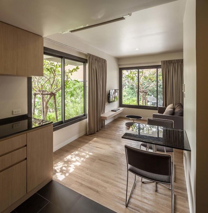 appartements à bangkok cuisine chambre suite