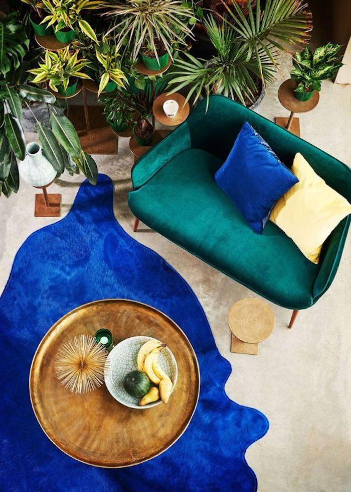 nuance de vert association couleurs bleu dur bouteille