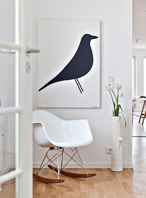 affiche oiseau eames house bird blog deco clemaroundthecorner